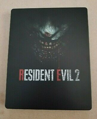PS4 / Xbox One: Resident Evil 2 Remake Steelbook Case (NEW)