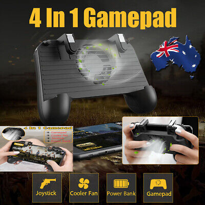 For PUBG Mobile Phone Game Gamepad Trigger L1R1 Fire Button Shooter Controller ❤