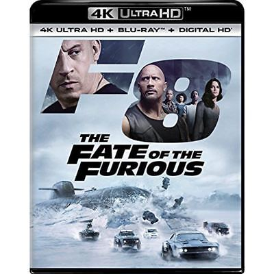 The Fate of the Furious (DVD, 2017, Includes Digital Copy 4K Ultra HD Blu-ray)