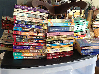 53 Harlequin and Silhouette Romance Book Lot