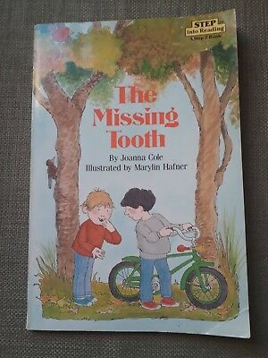 The Missing Tooth Joanna Cole Step Into Reading Level 2 Kids Book About Friends