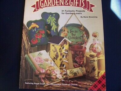 Quick & Easy Decoupage Garden & Gifts Booklet 31 Projects