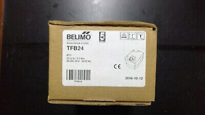 BELIMO TFB24 22IN-LB/2.5Nm 24vac/vdc NEW IN BOX