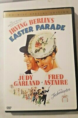 Easter Parade (DVD, 2011) Judy Garland-Fred Astaire-2 Disc Set