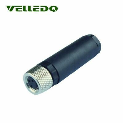 Female Threaded 3Pin M8 Female Sensor Connector IP67 Field-wireable Portable