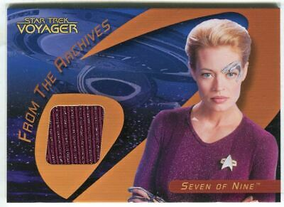Star Trek 40th Anniversary Voyager Costume Rewards Card C25A Seven of Nine