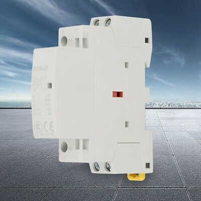2P 25A 220V/230V 50/60HZ High Quality Household AC Contactor 1NO 1NC Low Noise