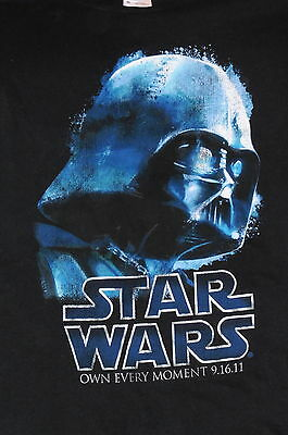 """""""Darth Vader – Own Every Moment"""" Star Wars T-Shirt Movie Film Promo(XL)"""