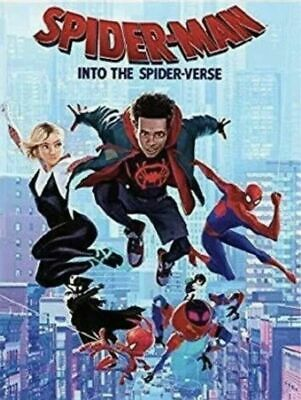 Spider-Man: Into the Spider-Verse DVD (2018)  FREE SHIPPING!!!