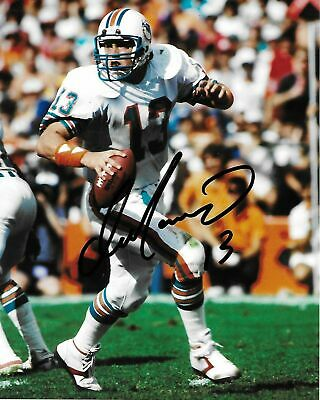 583ee5343ef RARE DAN MARINO Signed Hofer Miami Dolphins  13 Autographed 8X10 ...