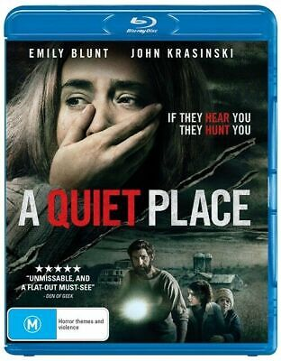 A Quiet Place (Blu-ray, 2018) NEW