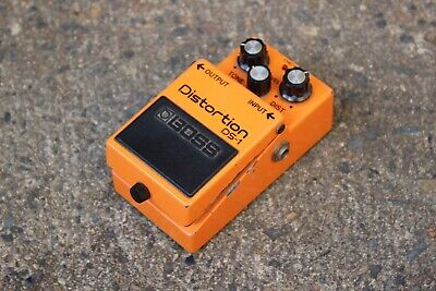 1983 Boss DS-1 Distortion MIJ Vintage Effects Pedal