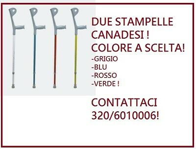 Stampelle Canadesi Coppia