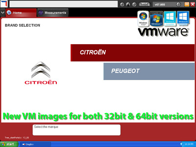 VMware Diagbox 8.55 (v07.855) Multilanguage for Peugeot Citroen Lexia interface