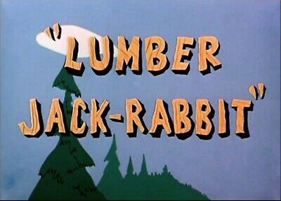 16Mm Warners Cartoon, Bugs Bunny Lumber Jack-Rabbit, Ib Technicolor