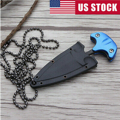 Mini Pocket Knife EDC Survival Boot Outdoor Hunting Camping Knifes Combat Tool