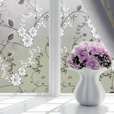 Window Decors Waterproof Self-adhesive Film Frosted Glass Door Bathroom Stickers