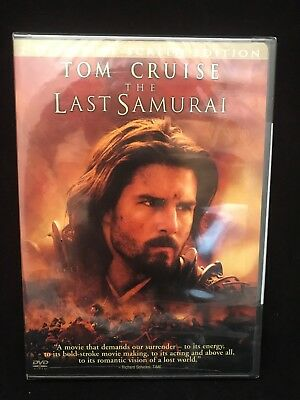 The Last Samurai (Full Screen Edition) Tom Cruise, Ken Watanabe DVD NEW