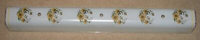 "Vintage Mid Century 31"" Bathroom Vanity Light Shade"