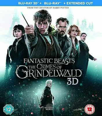 ~FANTASTIC BEASTS~ THE CRIMES OF GRINDELWALD 3D *blu-ray region free* *NEW!!*