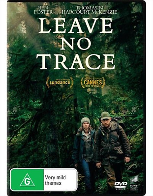 Leave No Trace (DVD, 2018) NEW