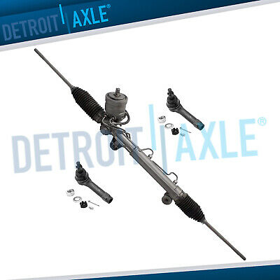 Power Steering Rack and Pinion + 2 New Outer Tie Rod for Grand Prix w/MAGNASTEER