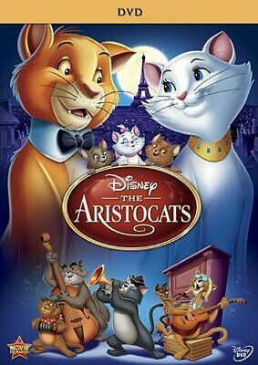 The Aristocats Special Edition Scatman Crothers Wolfgang Reitherman G DVD Anime