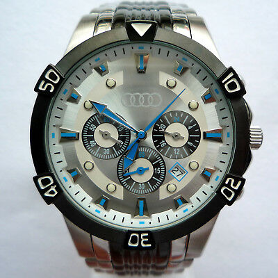 Audi RS Racing Quattro DTM Motorsport Racing Car Accessory Watch Chronograph