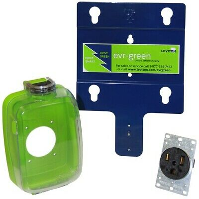Leviton 710-EVK05 Electric Vehicle Charging Pre-Wire Kit Level 2 Installation