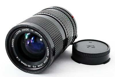 [Appearance Mint AS IS] Canon New FD 35-70mm F/4 MF Zoom Lens from JAPAN #595