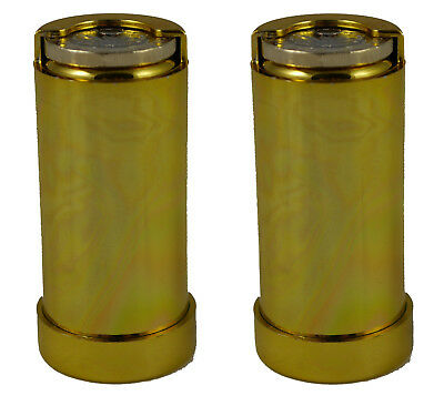 2 x One Euro 1E Coin Holder Gadget Holds Up to 15 Coins Gold Coloured