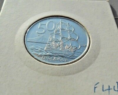 2006 New Zealand 50 Cent Coin Nickel Plated Steel Version