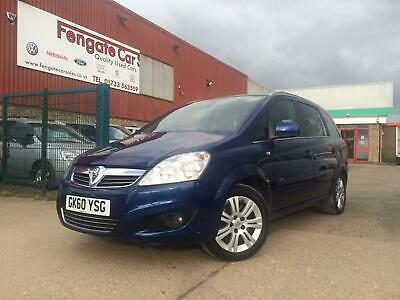 Vauxhall/Opel Zafira 1.7CDTi 16v ecoFLEX 2011 Elite FULL LEATHER SEATS ONLY 76K