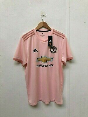 adidas Manchester United FC 2018/19 Men's Away Shirt - Large - No Name - New