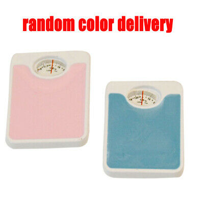 Dollhouse Miniature 1:12 Toy Living Room Mini Metal Weigh Scales Length 2.5cm
