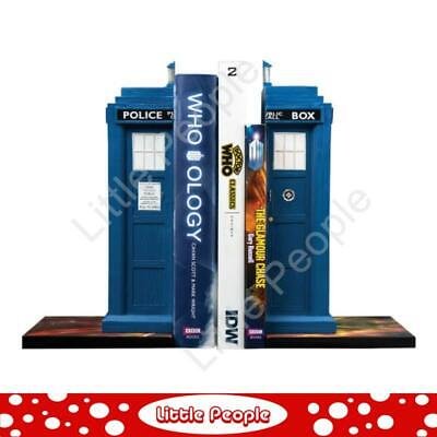 DOCTOR WHO - TARDIS BOOKENDS last one