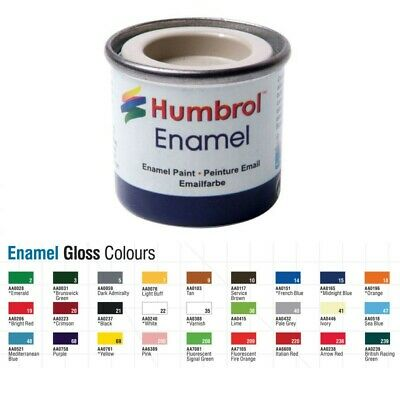 Humbrol Enamel Modelling Paint - Gloss 14ml