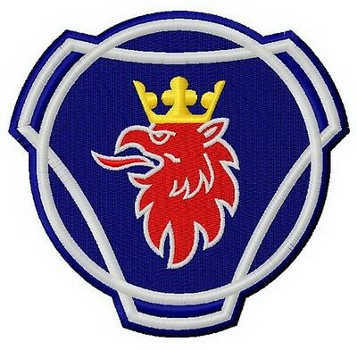 Patch aufnaher ecusson  Scania