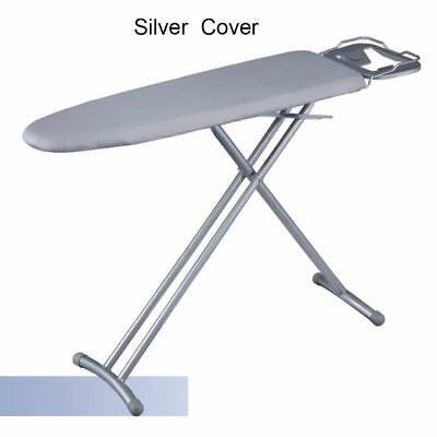 Universal Silver Coated Ironing Board Cover & 4mm Pad Thick Reflect Heat 3