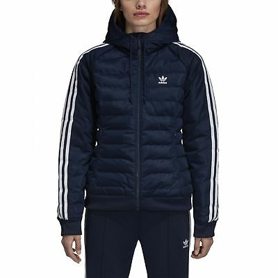 09f356461f0e5 adidas Originals Slim Jacket Damen Winterjacke Freizeit Collegiate Navy  DH4584