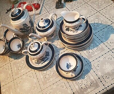 Double Phoenix nikko ironstone Japan Tea-set 30 pieces