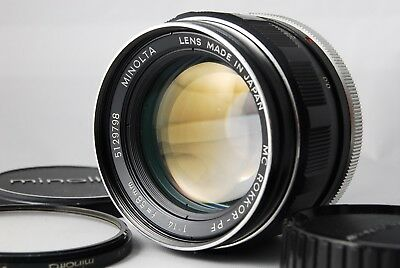 【Exc+++++】Minolta MC ROKKOR-PF 58mm f/1.4 MD Manual Focus Lens from JAPAN #29