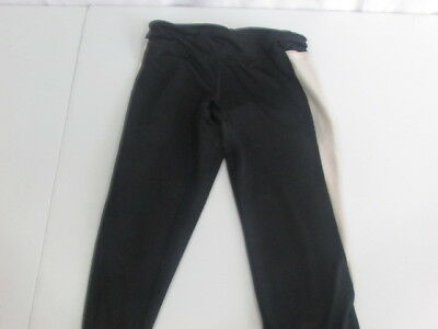 Soffe Work Out Athletic Pants Girls Medium Leggings Black Soffe Dri Capri