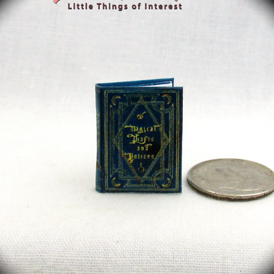 MAGICAL DRAFTS AND POTIONS Textbook Miniature Book 1:12 Scale Book Potter