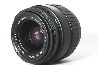 【Exc+++++】Sigma DL Zoom 35-80mm f/4-5.6 Auto Focus Lens A Mount from Japan #70