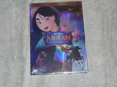 NEW Mulan (DVD, 2004, 2-Disc Set, Special Edition) New and Factory  Sealed