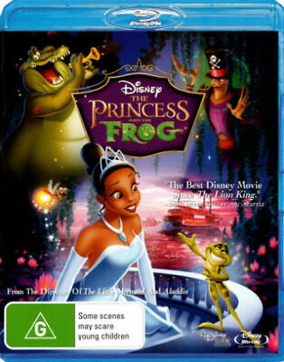 The Princess and the Frog - Blu-ray Region B [New & Sealed]