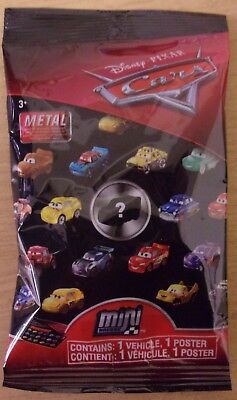 Disney Pixar Cars ~ Mini Micro Racers Die-cast ~ Sealed Blind Bag