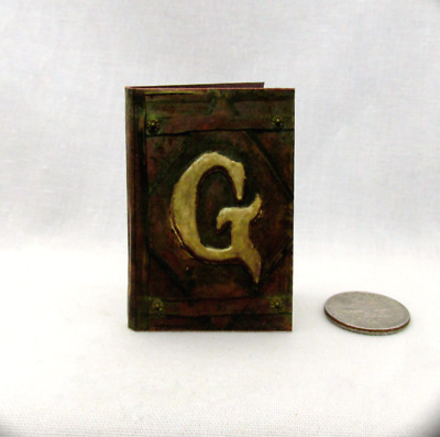 GRIMM DIARY 1:6 Scale Readable Illustrated Miniature Book Barbie Wesen Lore