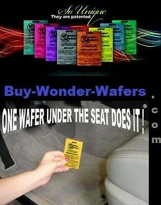 100~ Wonder Wafers~100 Wafers/25 scents ~Car Freshener - Auto Boat Home Office